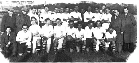The 1948 St. Enda's Senior team which won the Tyrone Senior Football Championship for the first time