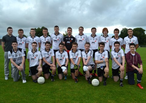 St. Enda's U16A team which drew with Dromore in the league