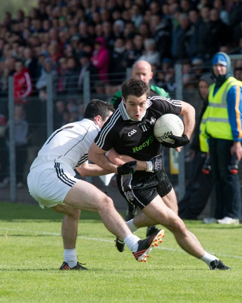 Senior captain Jason McAnulla in action on Sunday